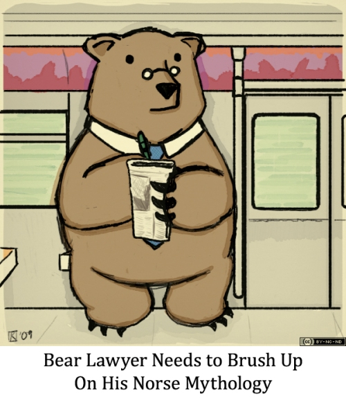 Bear Lawyer Needs to Brush Up on His Norse Mythology