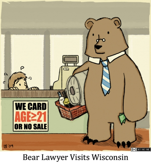 Bear Lawyer Visits Wisconsin
