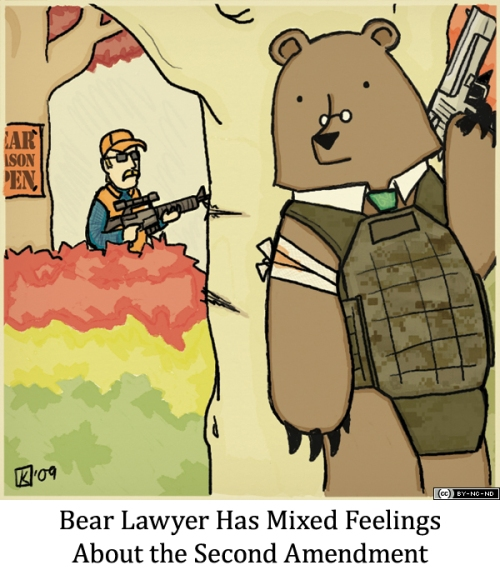 Bear Lawyer Has Mixed Feelings About the Second Amendment
