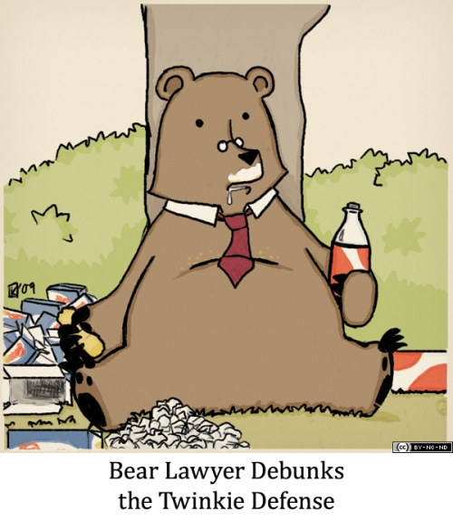 Bear Lawyer Debunks the Twinkie Defense