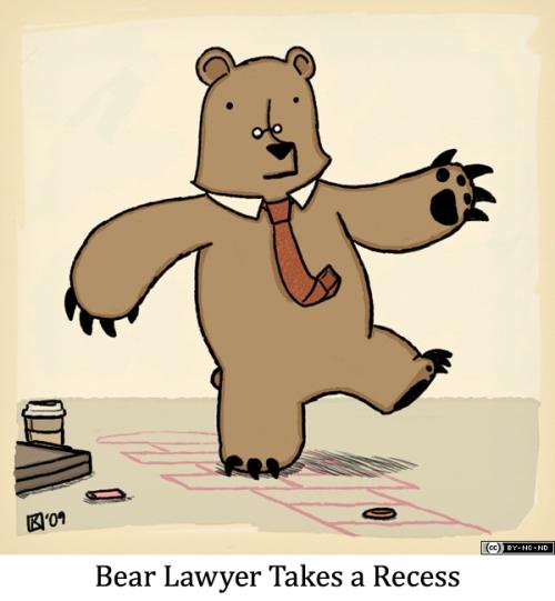 Bear Lawyer Takes a Recess