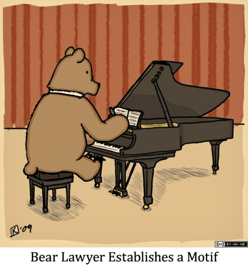 Bear Lawyer Establishes a Motif