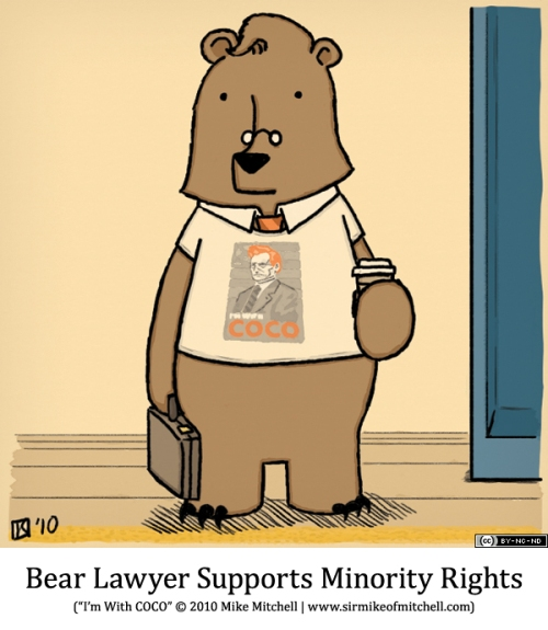 Bear Lawyer Supports Minority Rights