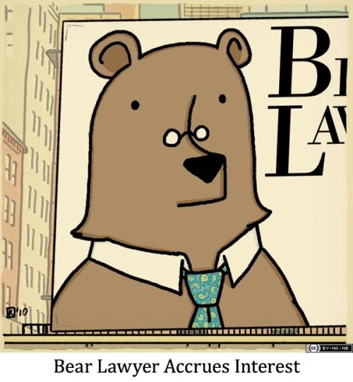 Bear Lawyer Accrues Interest