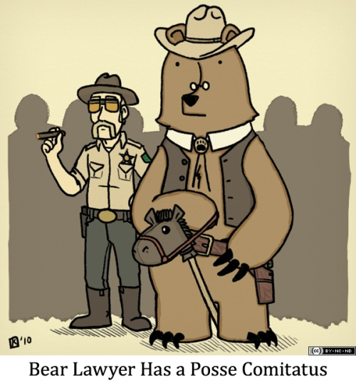 Bear Lawyer Has a Posse Comitatus