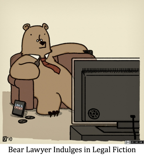 Bear Lawyer Indulges in Legal Fiction