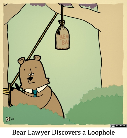 Bear Lawyer Discovers a Loophole