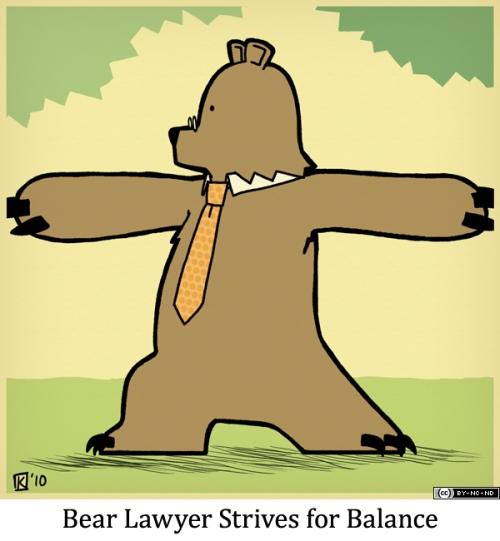 Bear Lawyer Strives for Balance