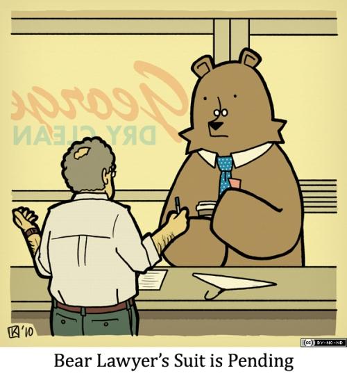 Bear Lawyer's Suit is Pending