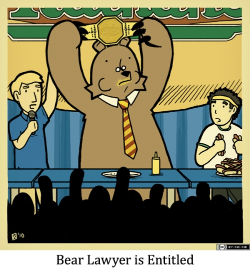 Bear Lawyer is Entitled