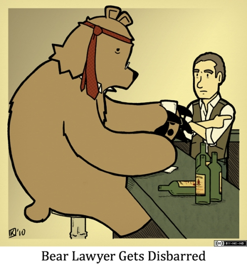 Bear Lawyer Gets Disbarred