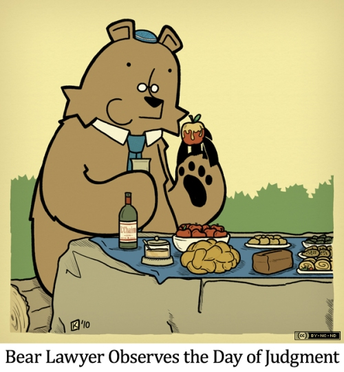 Bear Lawyer Observes the Day of Judgment