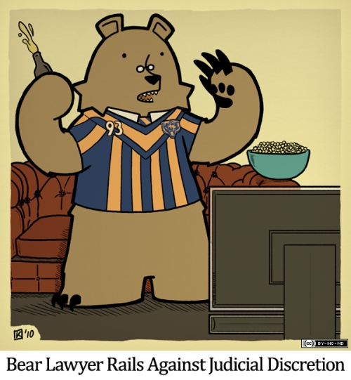 Bear Lawyer Rails Against Judicial Discretion