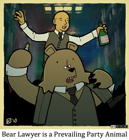 Bear Lawyer is a Prevailing Party Animal