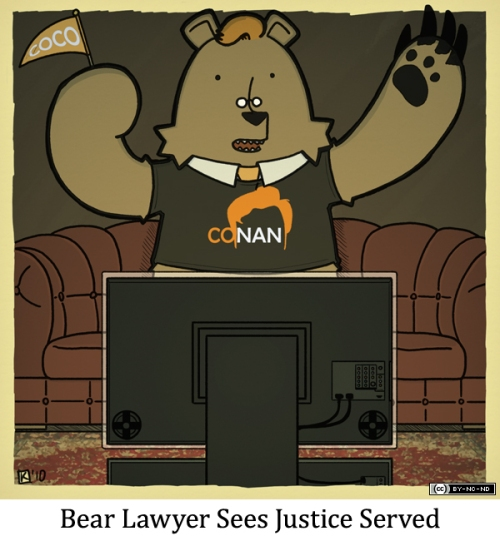 Bear Lawyer Sees Justice Served