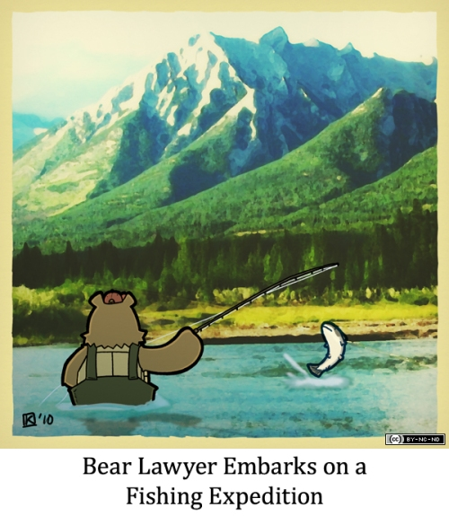 Bear Lawyer Embarks on a Fishing Expedition