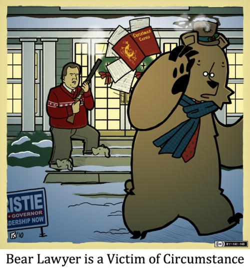 Bear Lawyer is a Victim of Circumstance