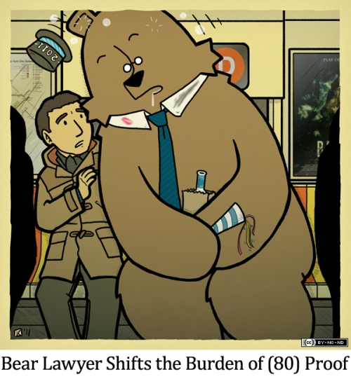 Bear Lawyer Shifts the Burden of (80) Proof