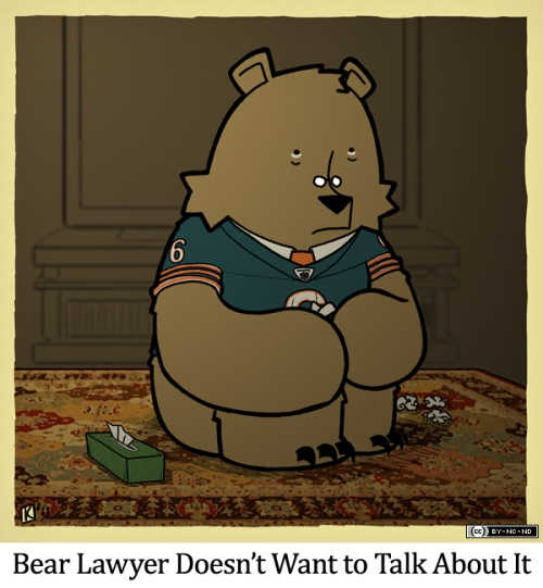 Bear Lawyer Doesn't Want to Talk About It