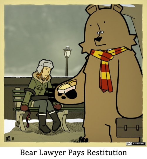Bear Lawyer Pays Restitution