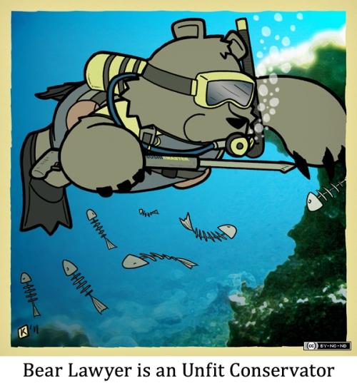 Bear Lawyer is an Unfit Conservator
