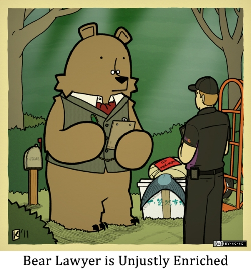 Bear Lawyer is Unjustly Enriched