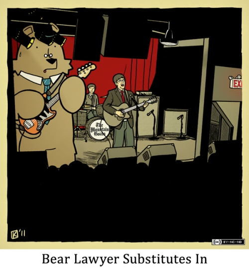 Bear Lawyer Substitutes In