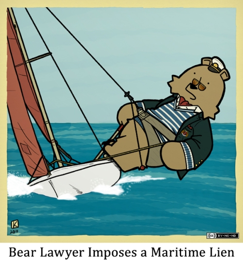 Bear Lawyer Imposes a Maritime Lien