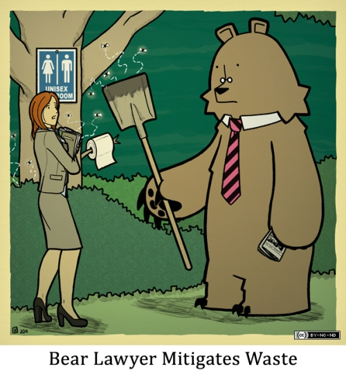 Bear Lawyer Mitigates Waste