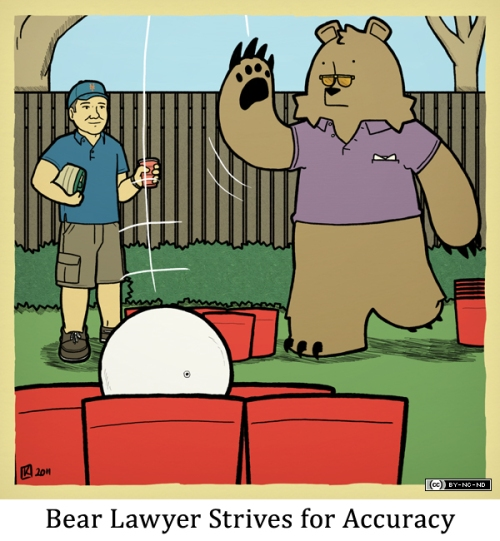 Bear Lawyer Strives for Accuracy