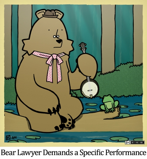 Bear Lawyer Demands a Specific Performance