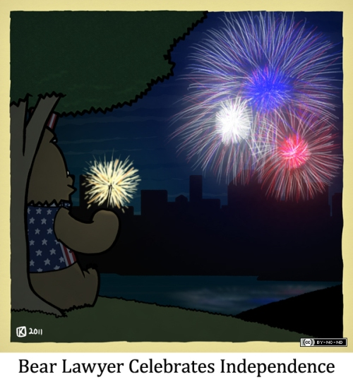 Bear Lawyer Celebrates Independence