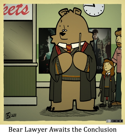 Bear Lawyer Awaits the Conclusion