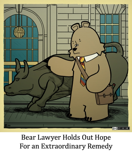 Bear Lawyer Holds Out Hope for an Extraordinary Remedy