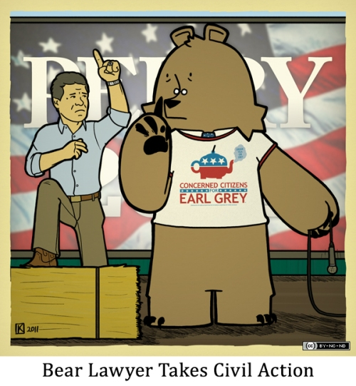 Bear Lawyer Takes Civil Action