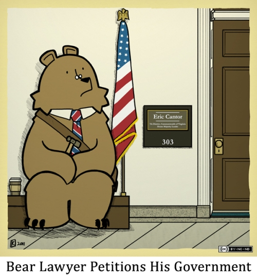 Bear Lawyer Petitions His Government