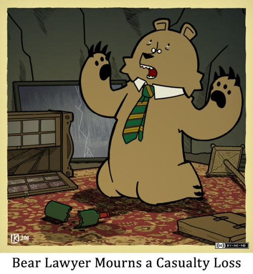 Bear Lawyer Mourns a Casualty Loss