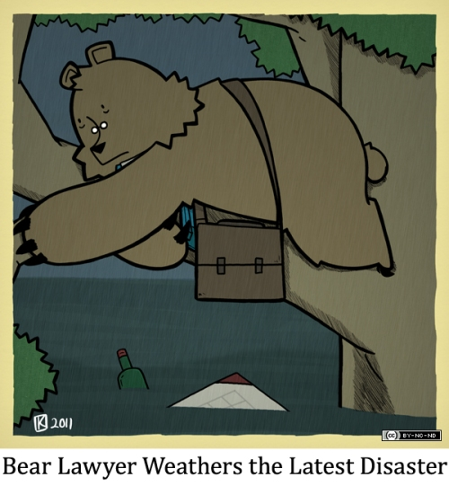 Bear Lawyer Weathers the Latest Disaster