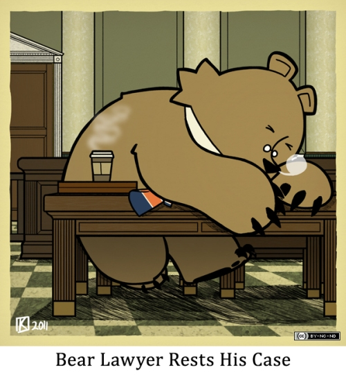 Bear Lawyer Rests His Case