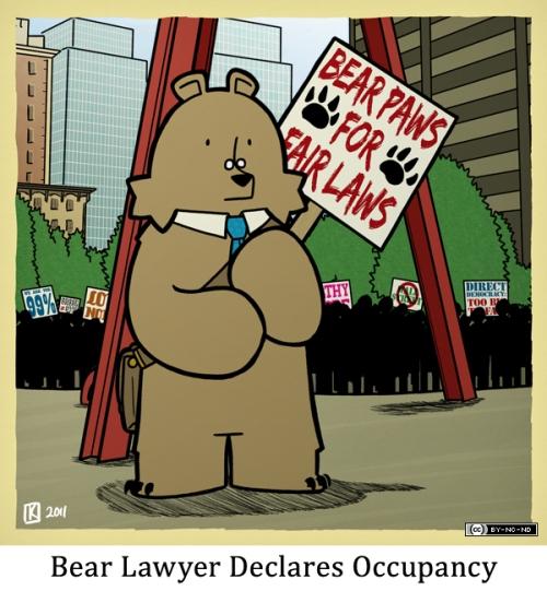 Bear Lawyer Declares Occupancy