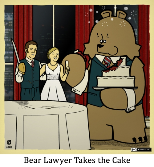 Bear Lawyer Takes the Cake