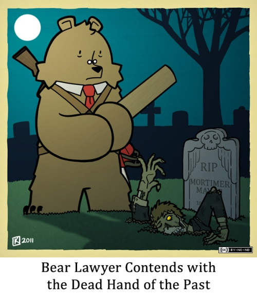 Bear Lawyer Contends with the Dead Hand of the Past