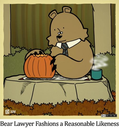 Bear Lawyer Fashions a Reasonable Likeness