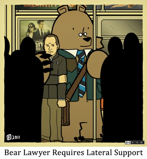 Bear Lawyer Requires Lateral Support