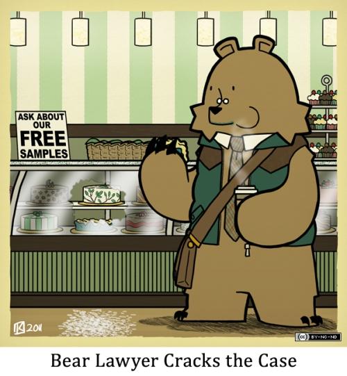 Bear Lawyer Cracks the Case