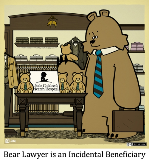 Bear Lawyer is an Incidental Beneficiary