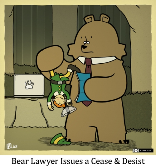 Bear Lawyer Issues a Cease & Desist