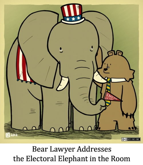 Bear Lawyer Addresses the Electoral Elephant in the Room