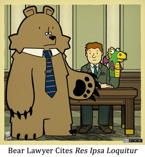 Bear Lawyer Cites Res Ipsa Loquitur