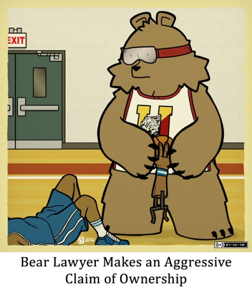 Bear Lawyer Makes an Aggressive Claim of Ownership